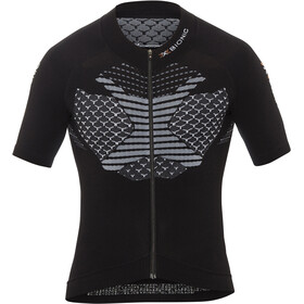 X-Bionic Twyce Biking Jersey SS Full-Zip Men, black/white